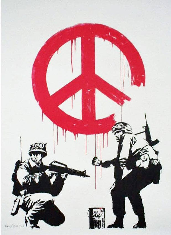 Graffik Gallery Banksy - CND - Signed
