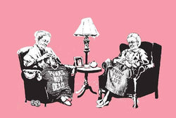 Graffik Gallery Banksy - Grannies POW edition - Unsigned