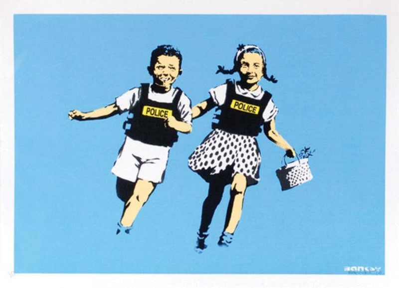 Graffik Gallery Banksy - Jack and Jill - Signed