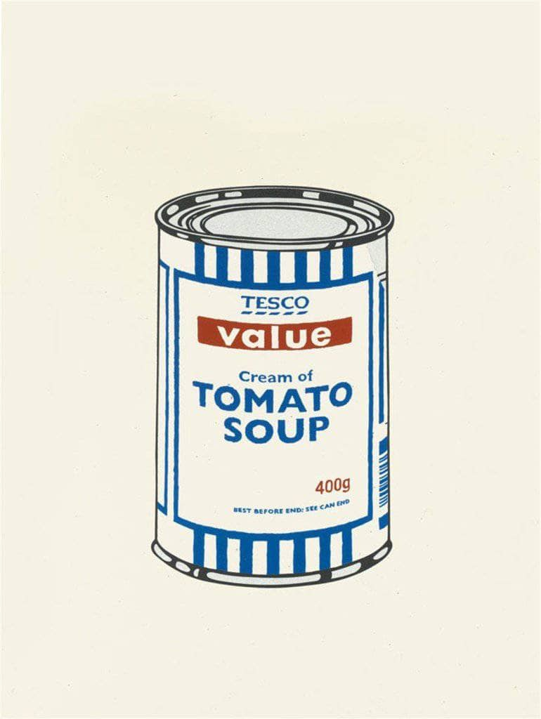 Graffik Gallery Banksy - Soup Can - Unsigned