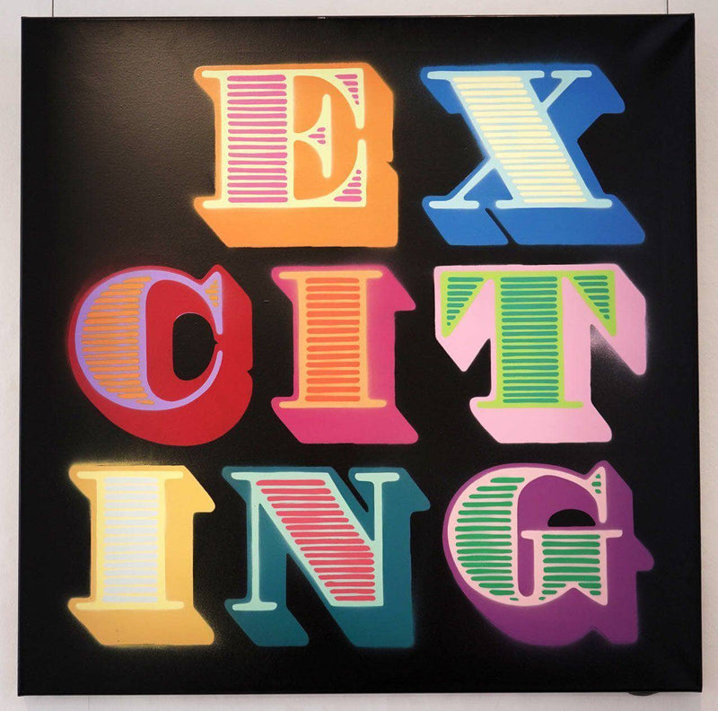 Graffik Gallery Ben Eine - Exciting