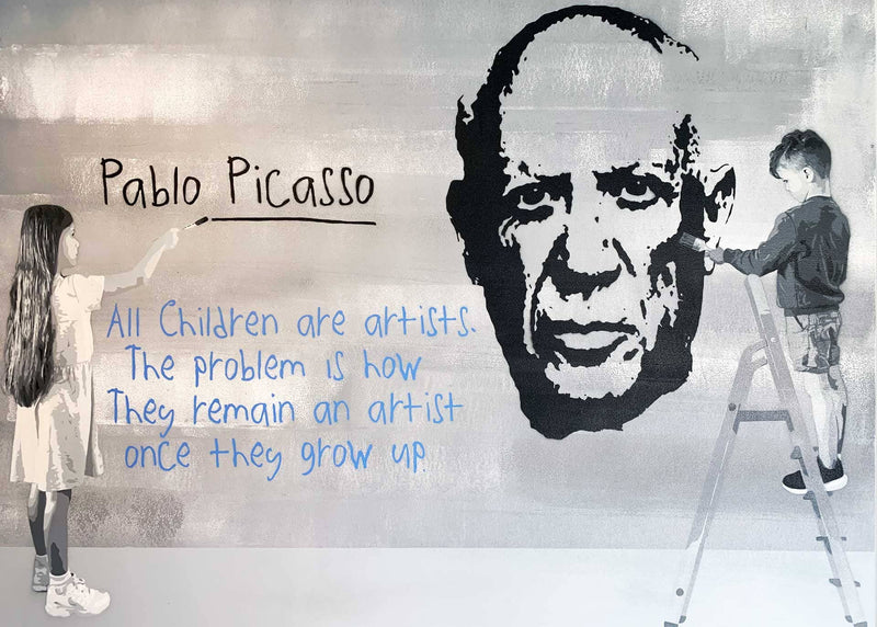 "Graffik Gallery Catman - ""All Children are artists"""