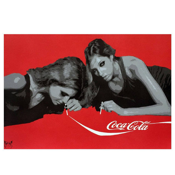 Graffik Gallery Catman - Coke-A-Cola