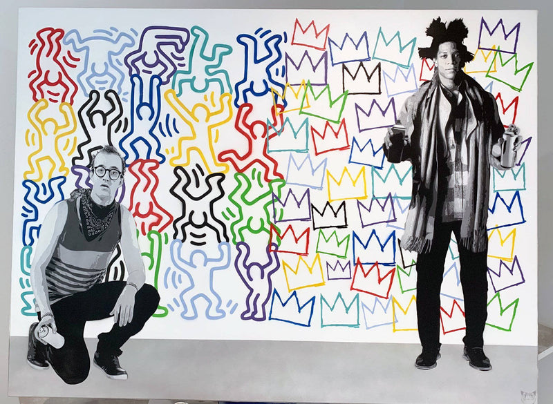 Graffik Gallery Catman - Haring vs Basquiat