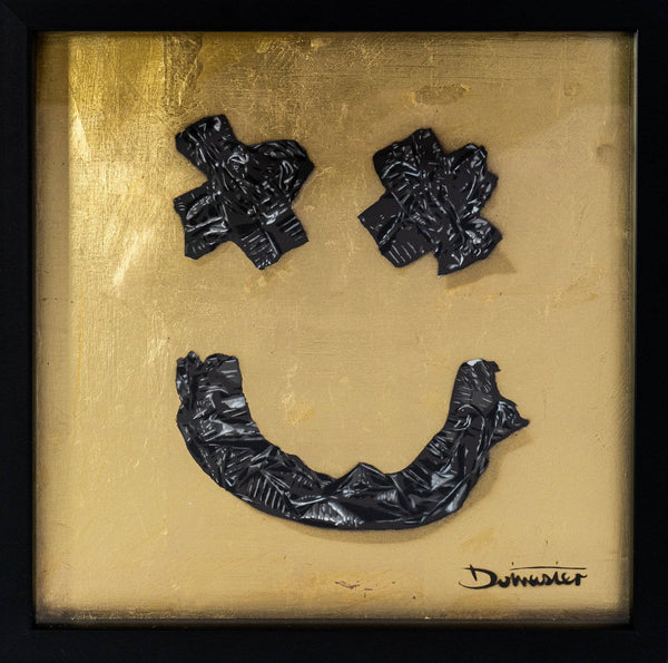 Graffik Gallery Dotmaster - Gaffa tape smile 24k Gold