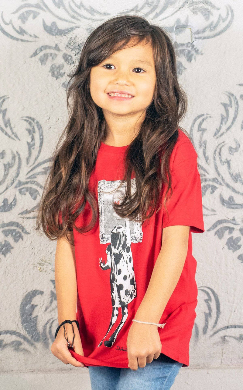 Graffik Gallery Indigo Get's Up T-Shirt - Kids