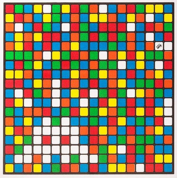 Graffik Gallery Invader - Albino  (2006)