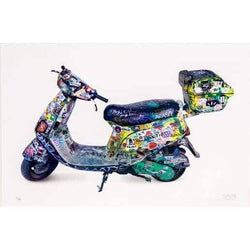 Graffik Gallery Invader - Scooter (2015)