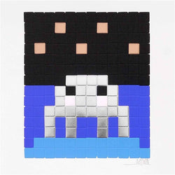 Graffik Gallery Invader - Space One - Silver V.I.P (2013)