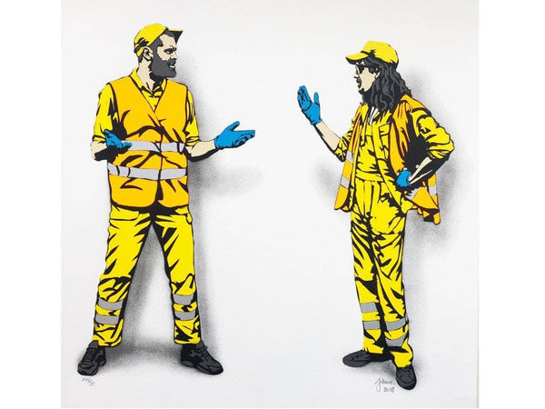 graffik gallery Jaune - The Debate (Edition of 50)