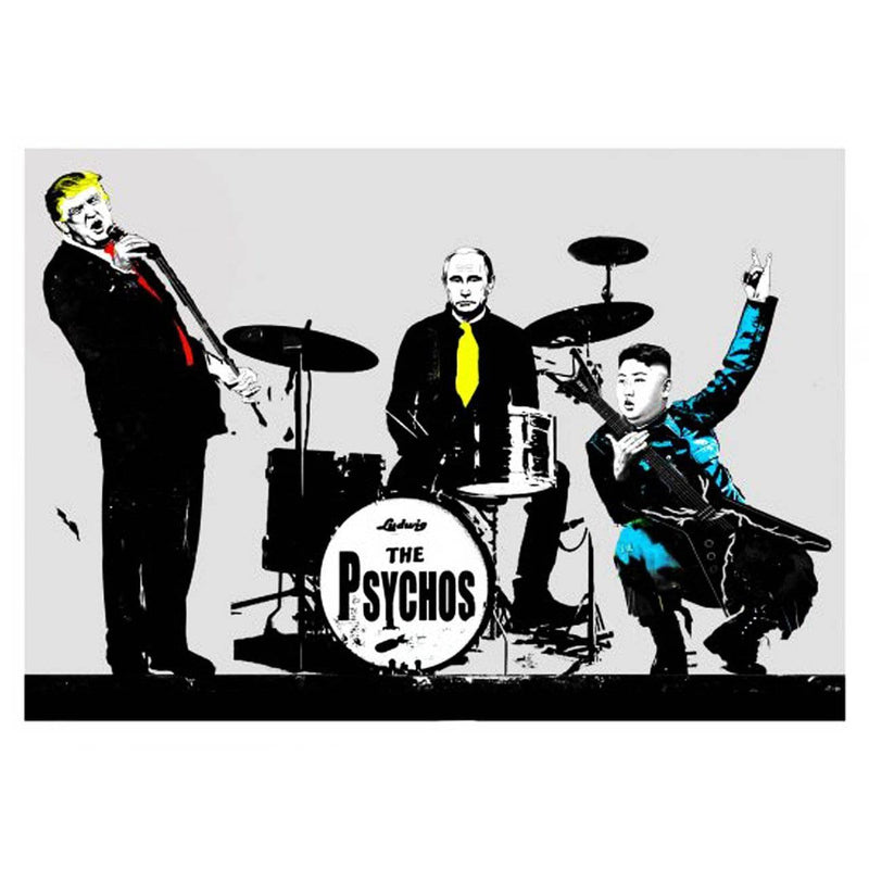 Graffik Gallery Loretto - The Psychos (AP)