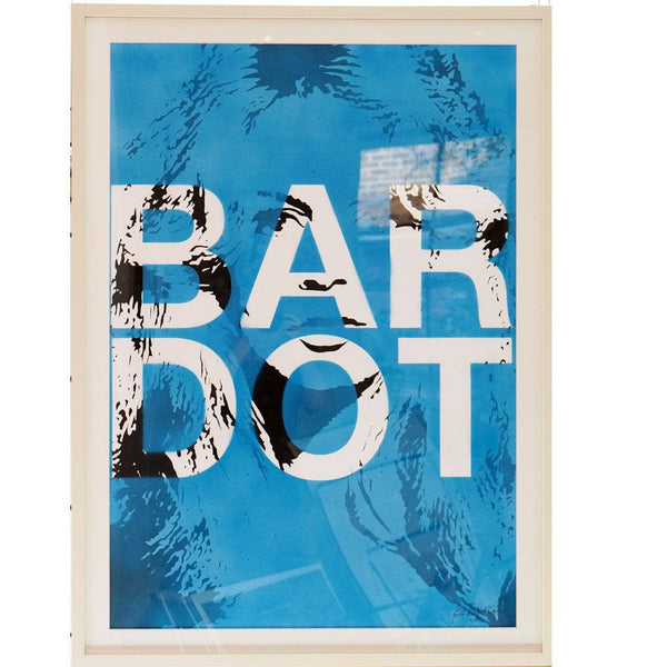 Graffik Gallery Louis Darbon - Bardot (Blue)