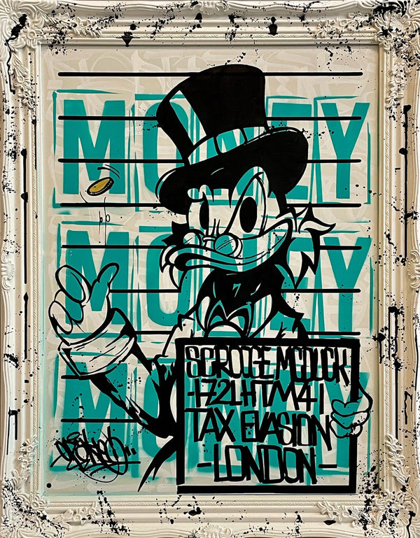 Graffik Gallery Opake - Money Money Money