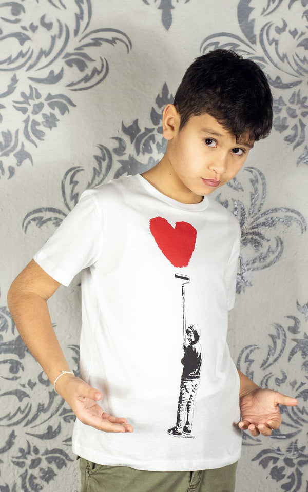 Graffik Gallery Otto heart T-Shirt - Kids