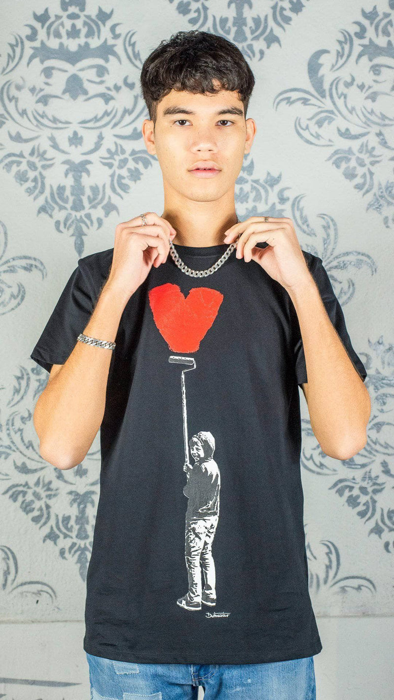 Graffik Gallery Otto Heart T-Shirt - Men