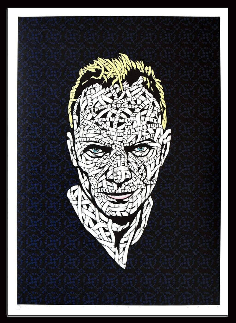 Graffik Gallery Otto Schade - Sting (Blue)