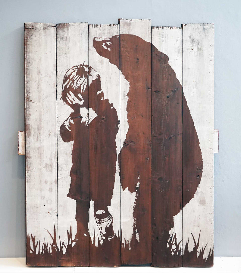 Graffik Gallery Pipsqueak - Sad bear