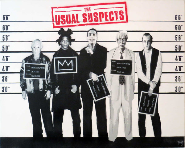Graffik Gallery The Usual Suspects - AP Crown Edition