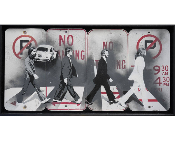 Graffik Gallery Tommy Gurr - Abbey Road