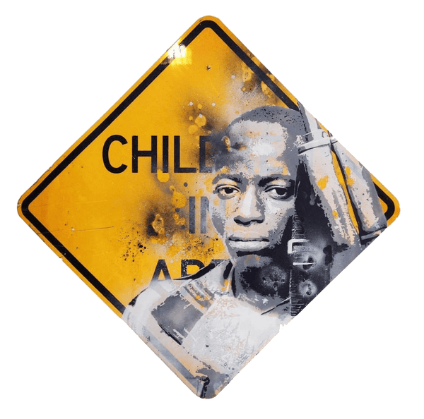 Graffik Gallery Tommy Gurr - Child Soldier