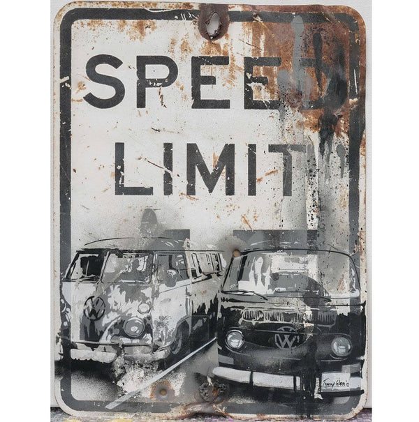Graffik Gallery Tommy Gurr - Life in the slow lane