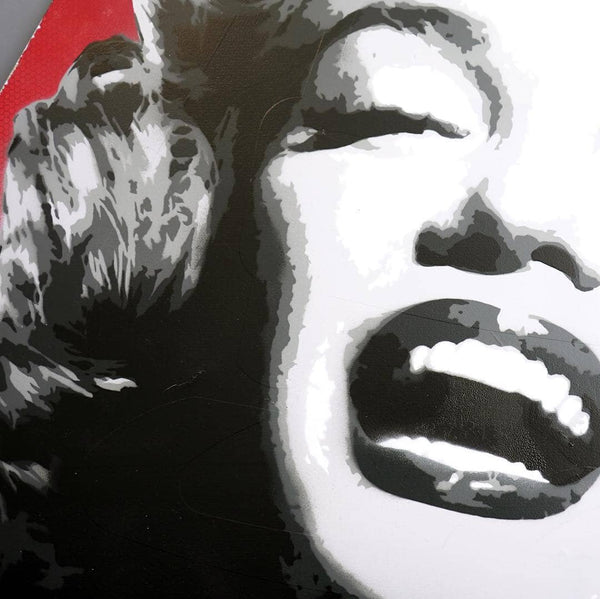 Graffik Gallery Tommy Gurr - Marylin Monroe