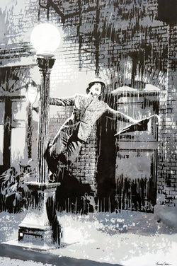 Graffik Gallery Tommy Gurr - Singin in the rain