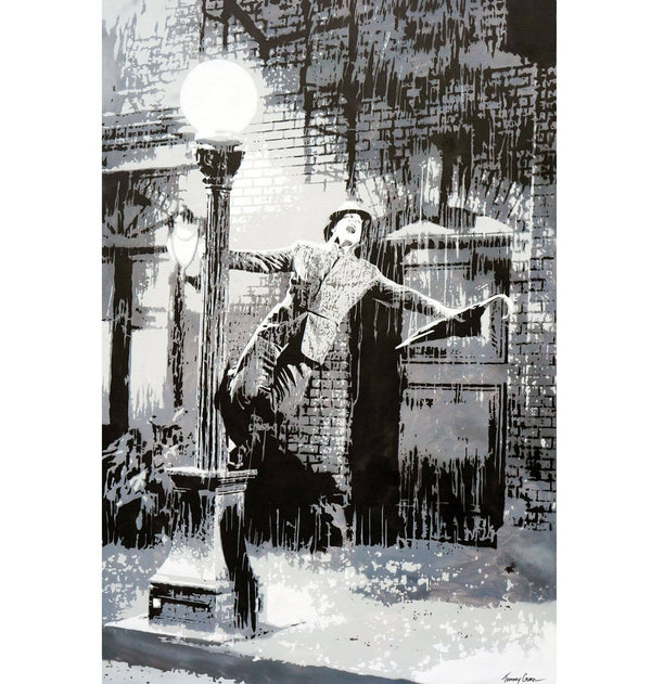 Graffik Gallery Tommy Gurr - Singin' in the rain