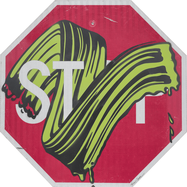 Graffik Gallery Tommy Gurr - Stop Roy (Green)