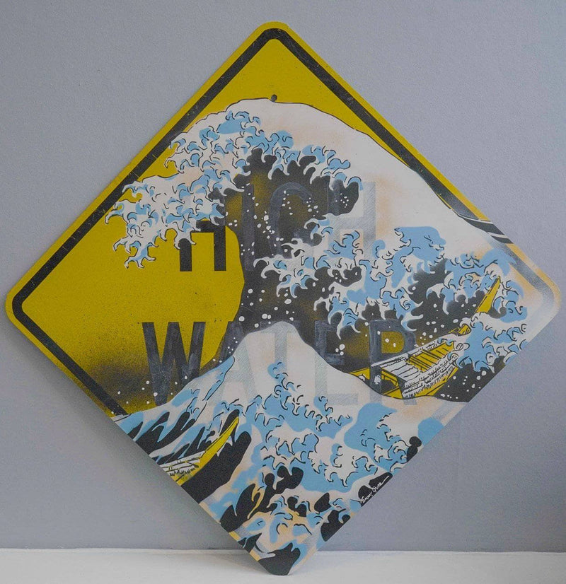 Graffik Gallery Tommy Gurr - The Great Wave