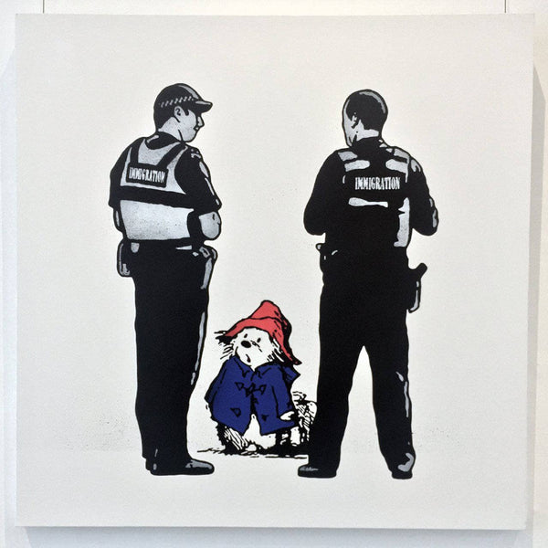 Graffik Gallery TRUST.iCON - Please look after this Bear (canvas)