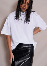 The Oversized Tee in White