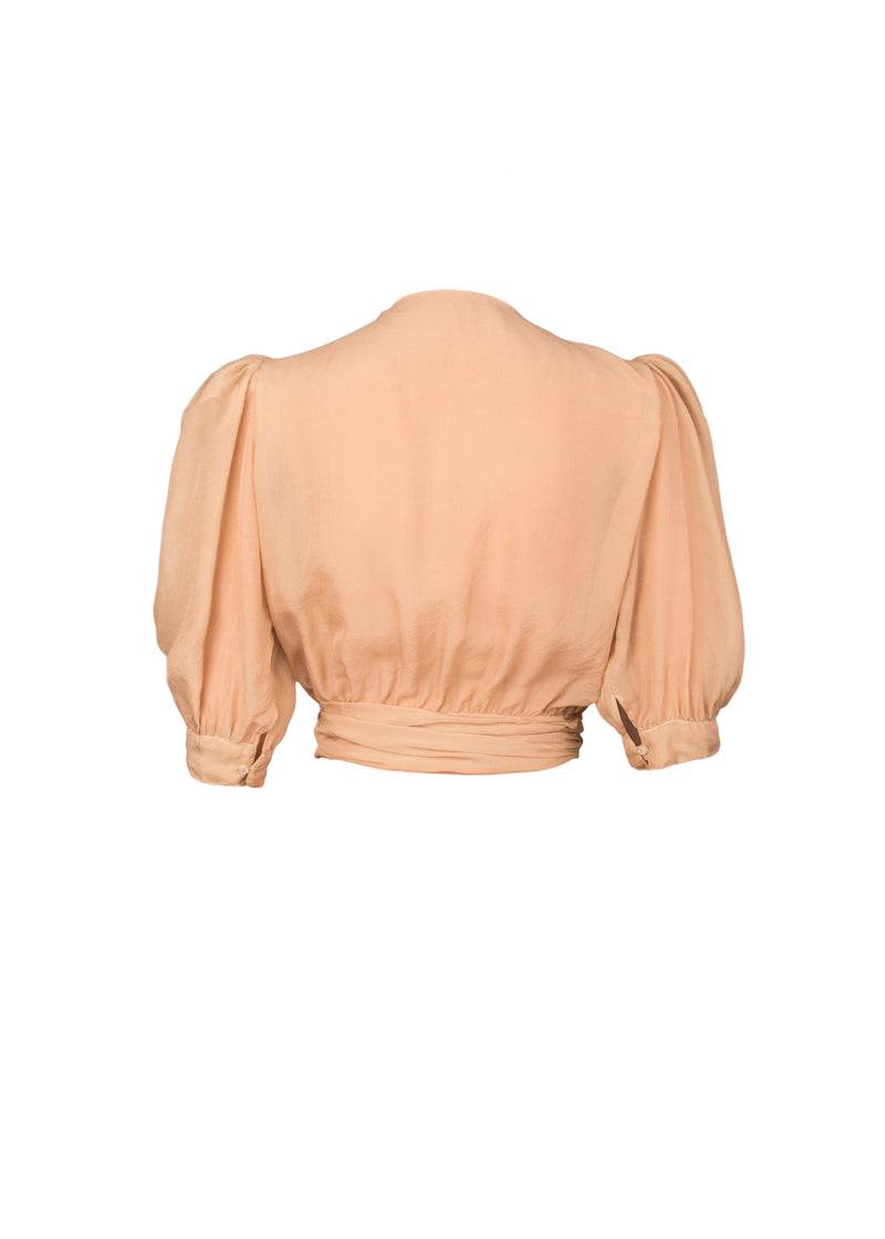 The Wrap Blouse in Feel