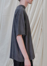 The Oversized Tee in Coal