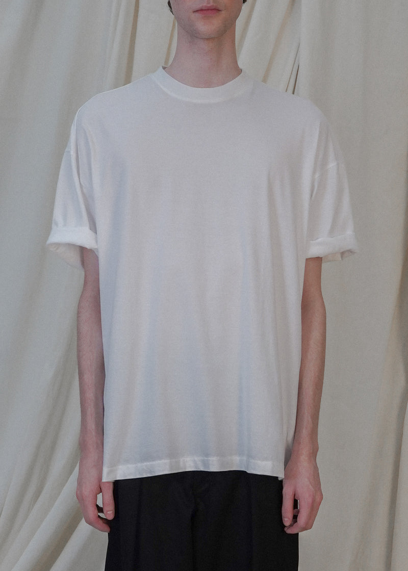 The Oversized Tee Set of Two in White