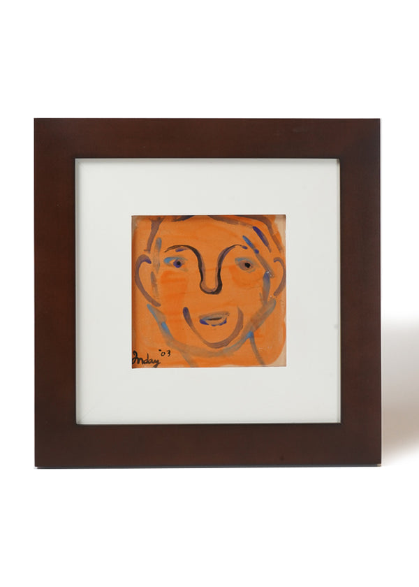 Face In Orange 2003