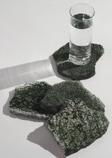 The Serpentinite Coaster Set of Four