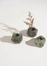 The Serpentinite Candleholder Set