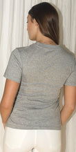 Annick Crew Neck T-Shirt in Grey