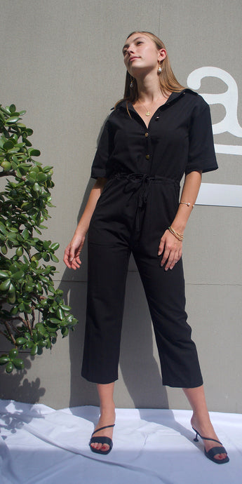 Lola Jumpsuit in Black