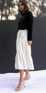 ISLA SKIRT IN WHITE