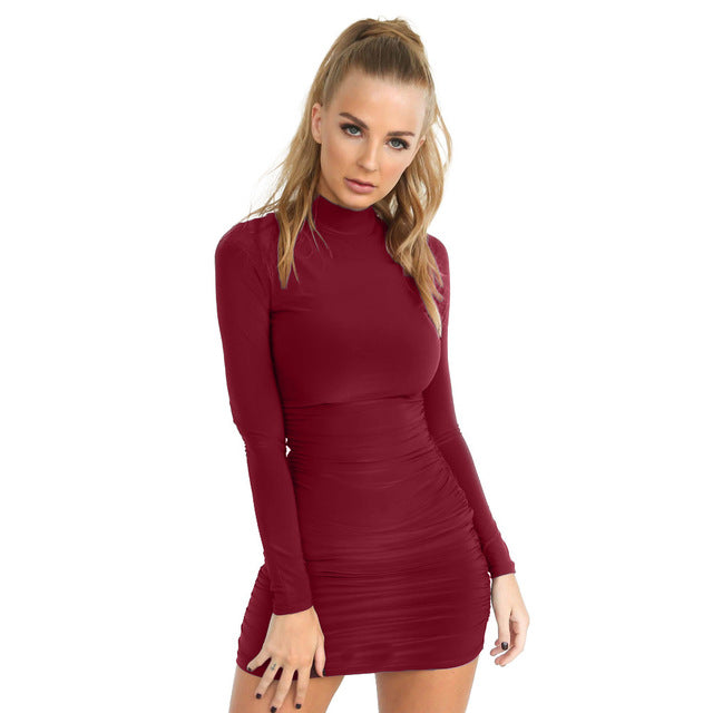 Long Sleeve Sexy Bodycon Dress
