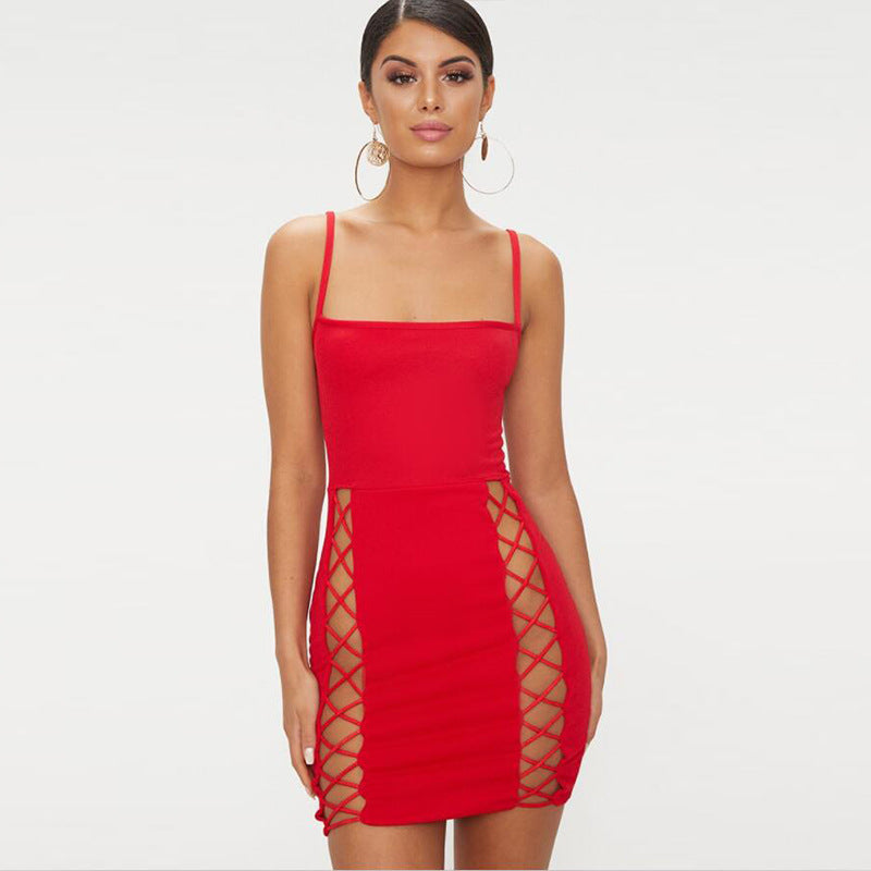 Sleeveless Mini Sexy Dress