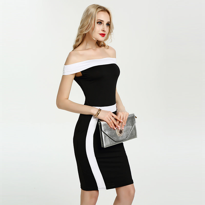 Off Shoulder Bodycon Dress