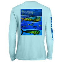 GEO Mahi Pattern UV Performance Sky Blue