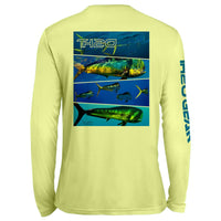 GEO Mahi Pattern UV Performance Yellow