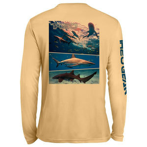 GEO Sharks Pattern UV Performance Peach