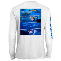 GEO Tuna Pattern UV Performance White