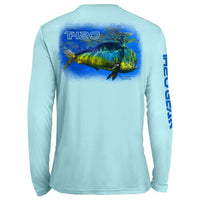 Classic Mahi Reflection UV Performance Sky Blue
