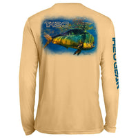 Classic Mahi Reflections UV Performance Peach